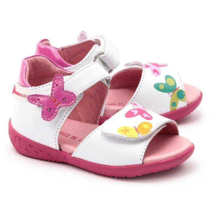 AGATHA RUIZ 132908 Girls White Sandal -