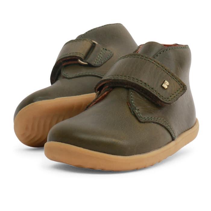 BOBUX Step Up Desert Boot Olive -