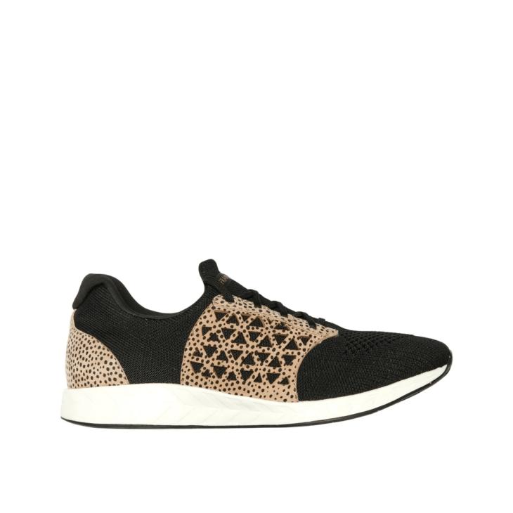FRANKiE4 BiLLiE Black/Leopard Print -