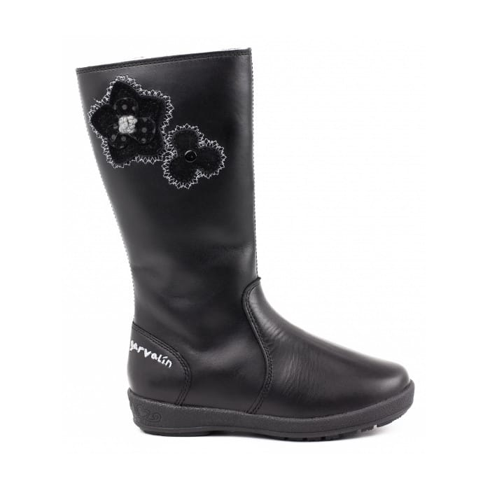GARVALIN 151621 Flores Girls Boots Black -