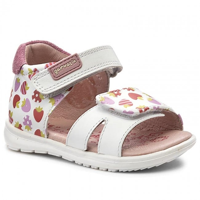 GARVALIN 172322 Girls Sandal Fruit Print -