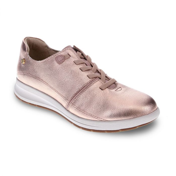 REVERE Crete Stretch-Lace Sneaker Rose/Dusty Pink -