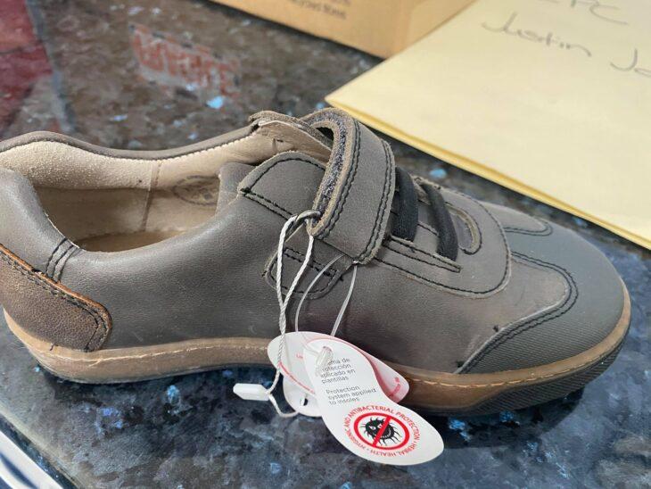 GARVALIN 191410 Boys Shoe Grey »