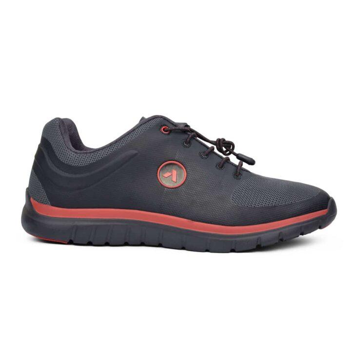 ANODYNE No. 22 Sport Runner Black/Red -