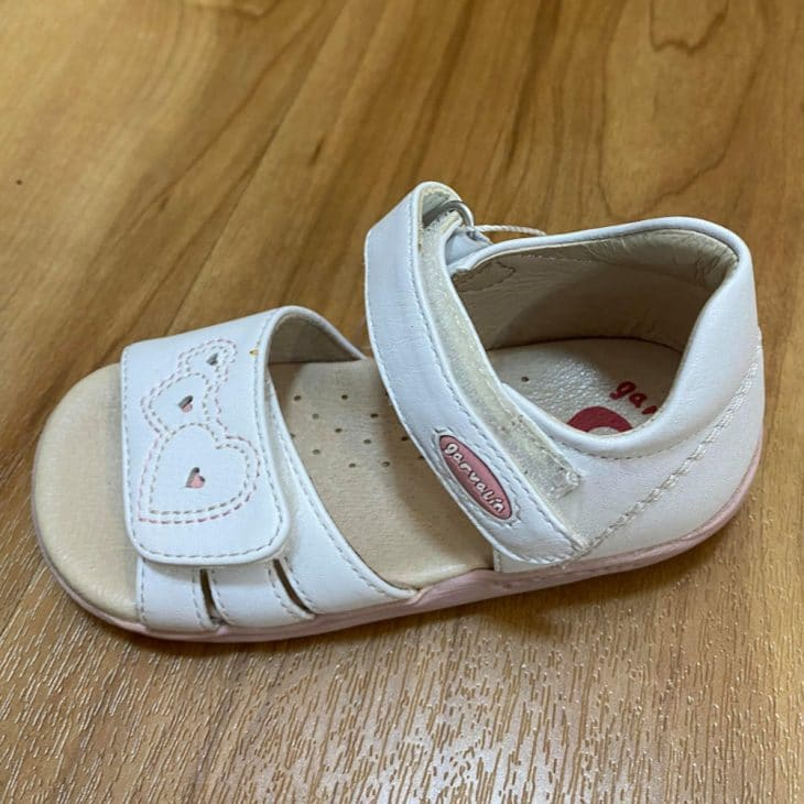 GARVALIN Girls Sandal White -