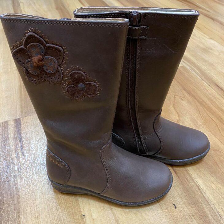 GARVALIN 151621 Girls Boots Brown -