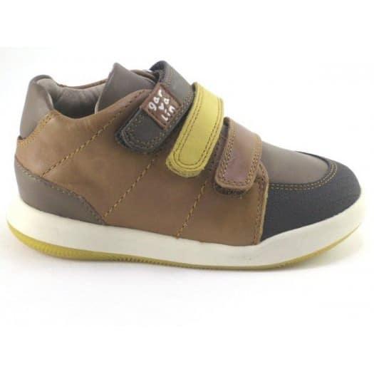 GARVALIN 181611 Boys Shoe Brown -