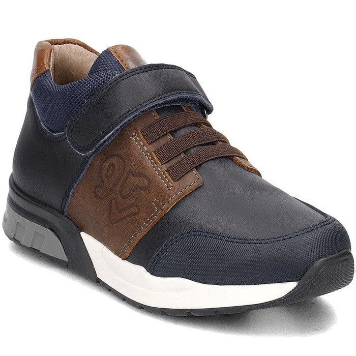 GARVALIN 181642 Boys Shoe Navy -