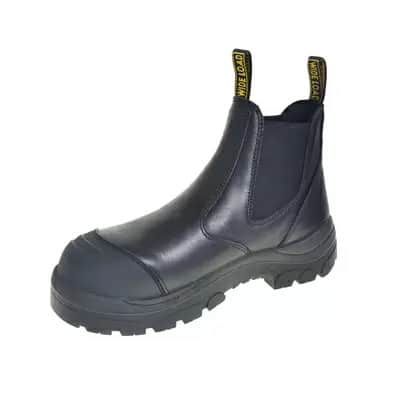 WIDE LOAD Steel Toe Pull On Boot Black »