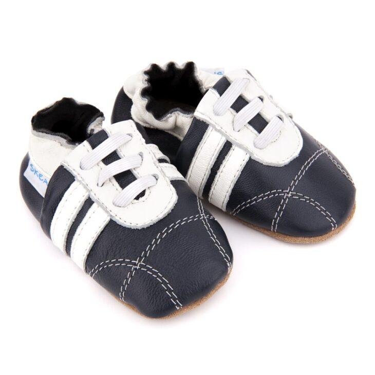 SKEANIE Sneakers Navy/White -