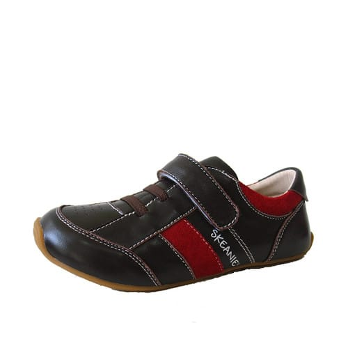 SKEANIE Trainers Brown/Red »