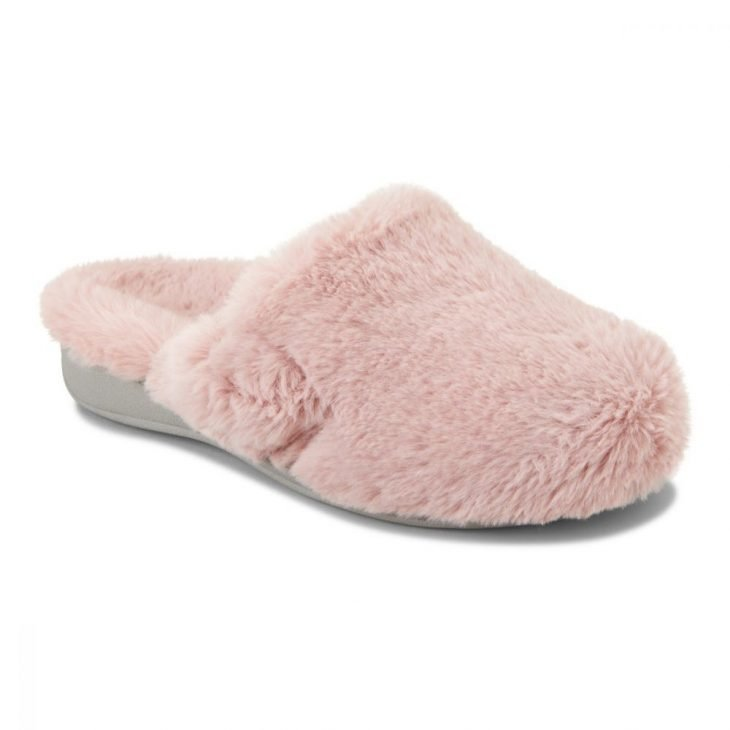 VIONIC Gemma Plush Slipper Blush -