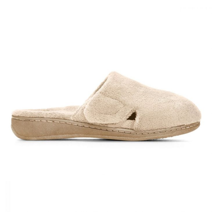 VIONIC Gemma Mule Slipper Tan -
