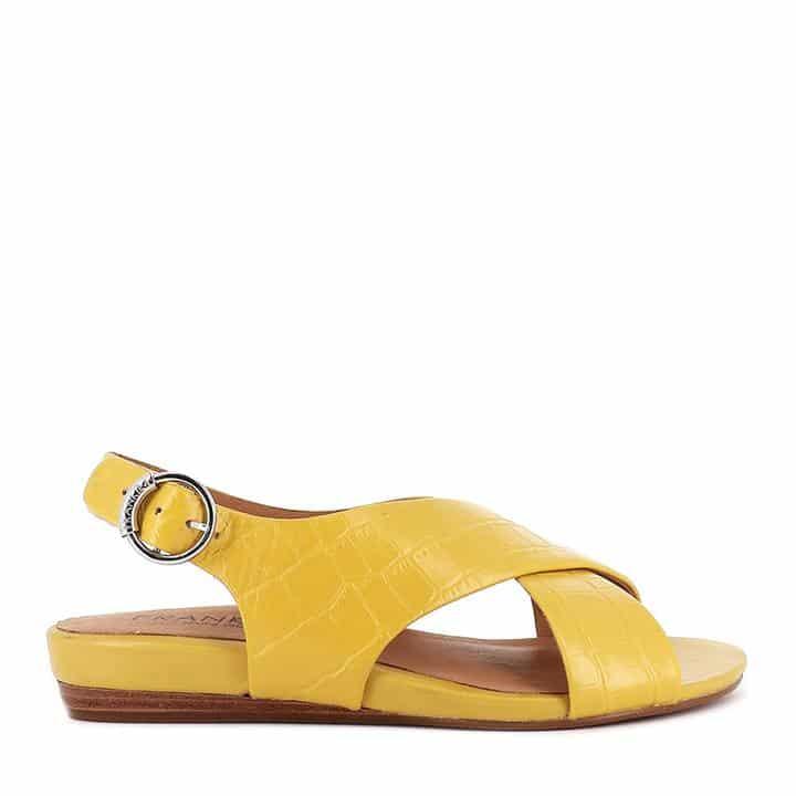 FRANKiE4 AMBER Mustard Croc »