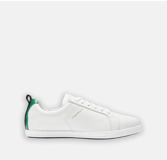 FRANKiE4 ADELAiDE White/Emerald Croc »