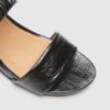 FRANKiE4 MOLLiE Black Croc »