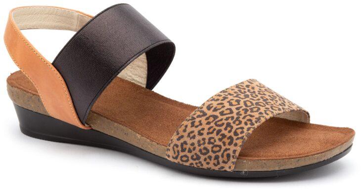 SILVER LINING HANNAH Tan/Leopard »