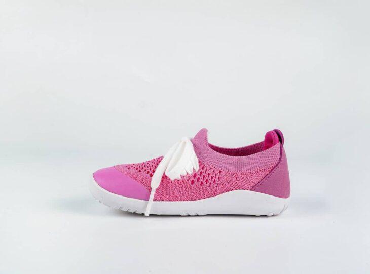 BOBUX Step Up Play Knit Pink + Raspberry »
